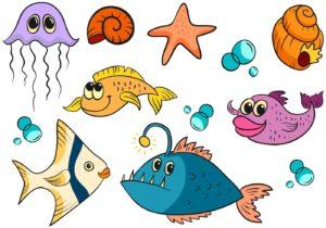 I kortspillet fisk siger man fisk, hvis man ikke har kortet, der spørges efter